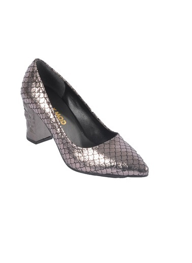 Maje 2740 Platin Kadın Topuklu Ayakkabı Gümüş